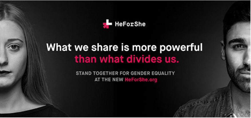 Campaign poster for he for she